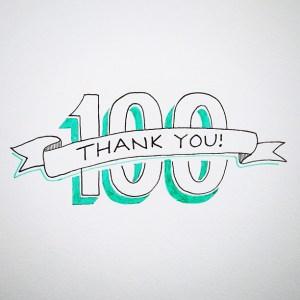 100followers